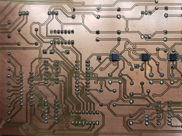 Printed Circuit Boards Made By Introduction To Circuit Design And Manufacture Students.