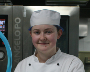 Katie Graham, Level 3 NVQ Professional Cookery - Patisserie and Confectionary