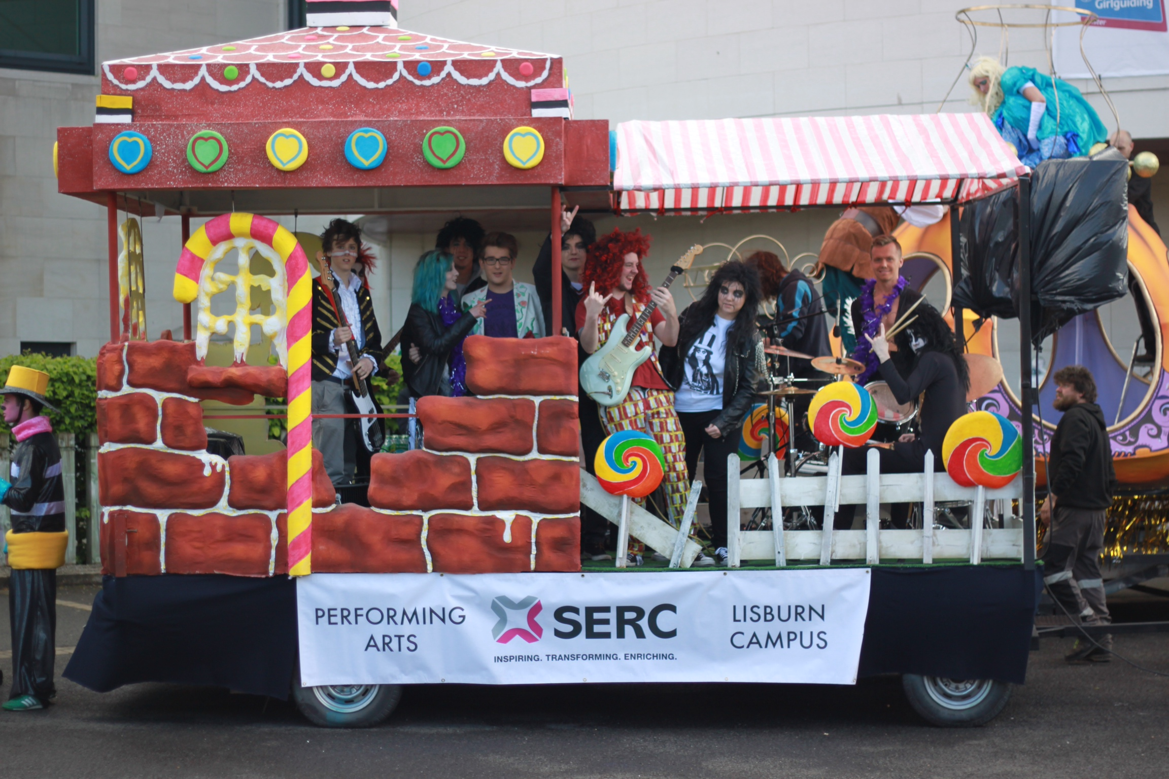 Performing Arts Float