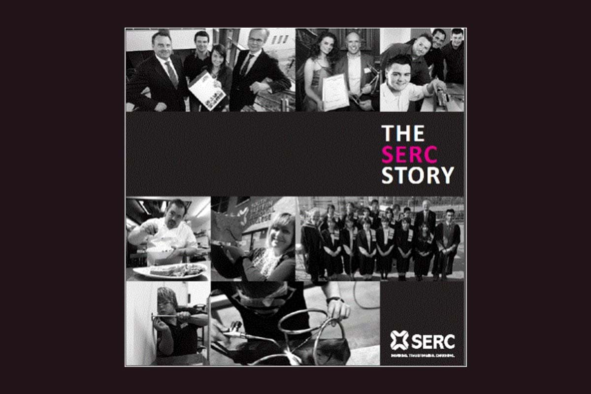 Showing the cover of the PDF to the SERC story