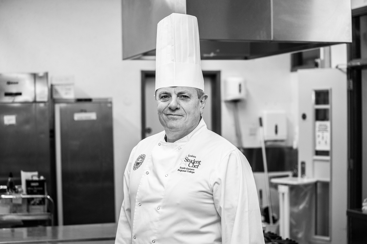 A picture of chef Ian Thompson.