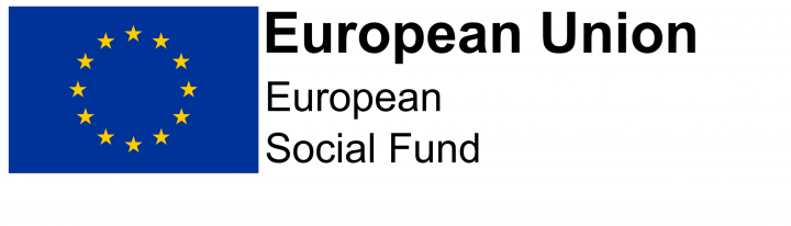 Image of the European social fund logo